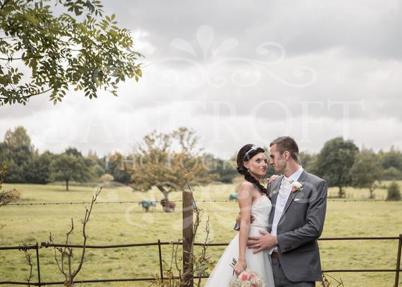 David & Rebecca Statham Lodge Wedding 01691