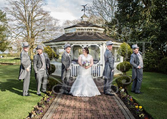Robert & Kim Thornton Hall Wedding 0520