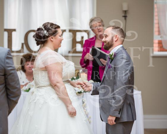 Barry & Stacey Leasowe Castle Wedding 01769