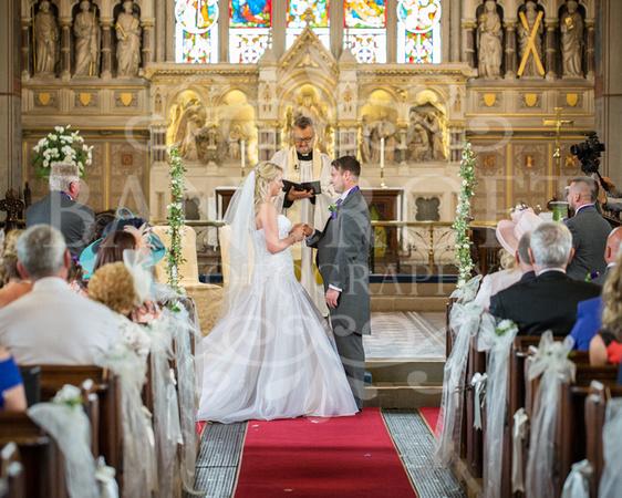 Martin & Nicola - Village on the Green Wedding -01189
