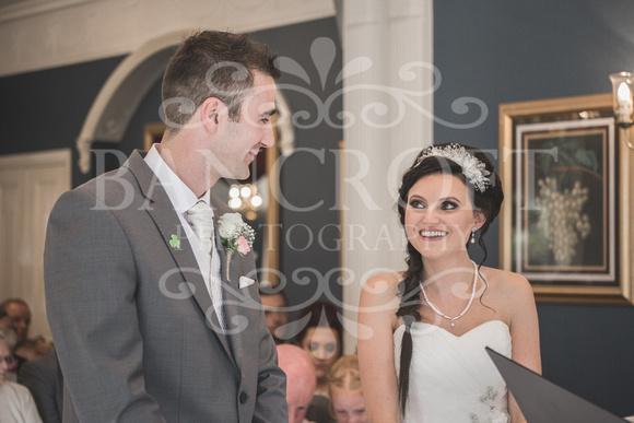 David & Rebecca Statham Lodge Wedding 01470