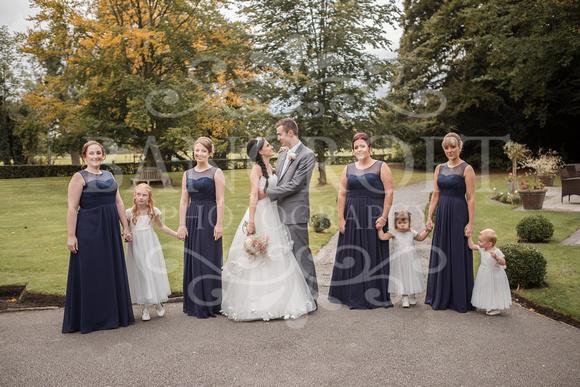 David & Rebecca Statham Lodge Wedding 01888