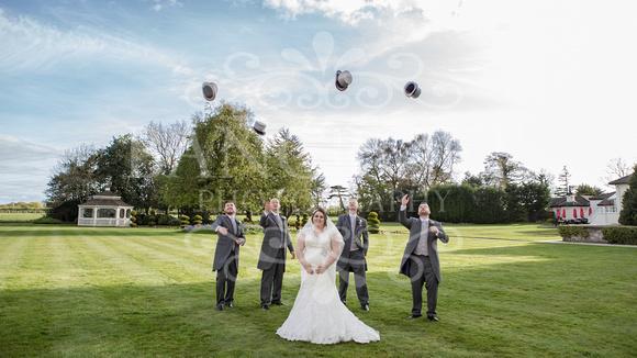 Robert & Kim Thornton Hall Wedding 0737