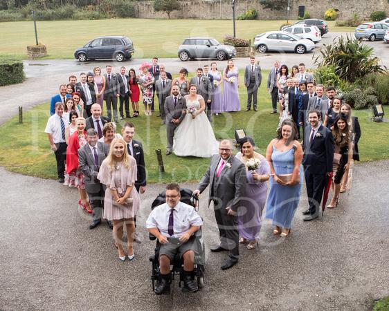Barry & Stacey Leasowe Castle Wedding 00848