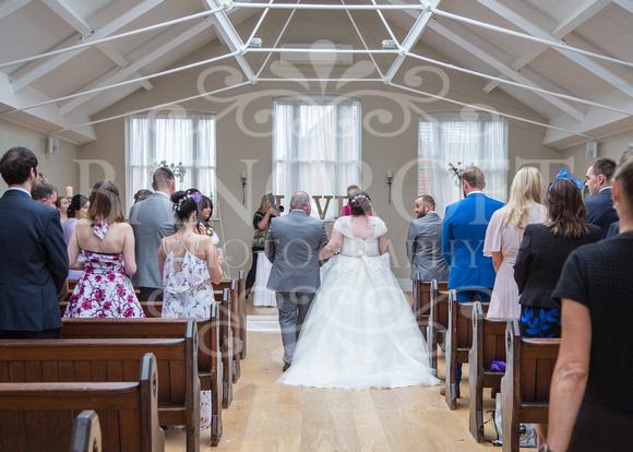 Barry & Stacey Leasowe Castle Wedding 01744