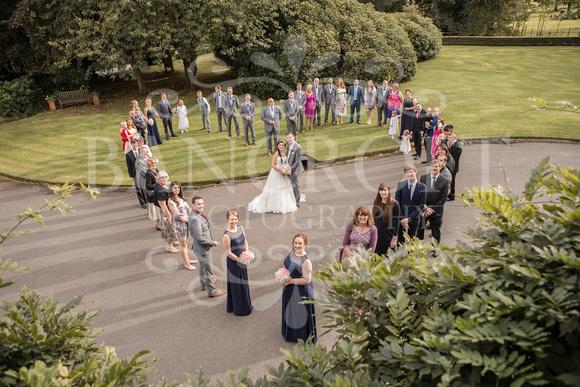 David & Rebecca Statham Lodge Wedding 01975