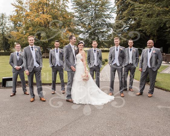 David & Rebecca Statham Lodge Wedding 01908